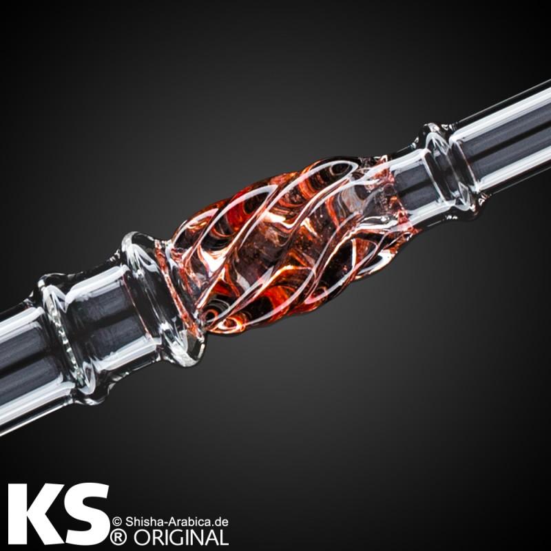 "KS Original - KS Glas Liner ""Minea Pro"" Red 50cm"