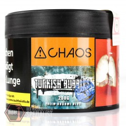 Chaos Tobacco • Turkish Bubbles Code Blue 200 gr.