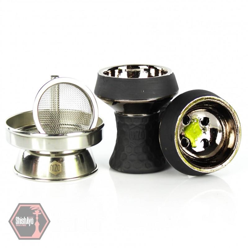 Nizo - Nizo Steinkopf Set Silber