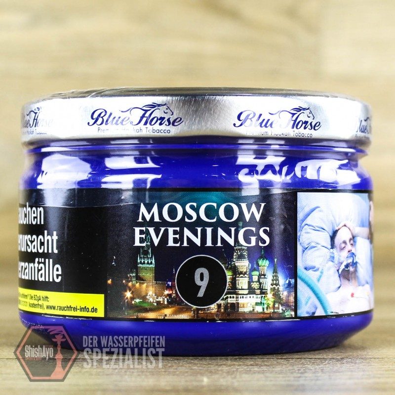 Blue Horse Tobacco • Moscow Evenings 200gr.