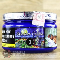 Blue Horse Tobacco - Blue Horse- Barcelona Sunrise 200gr.