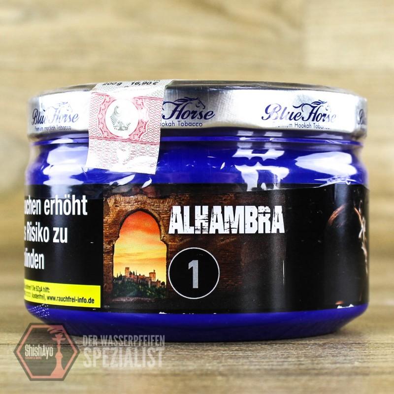 Blue Horse Tobacco - Blue Horse- Alhambra 200gr.