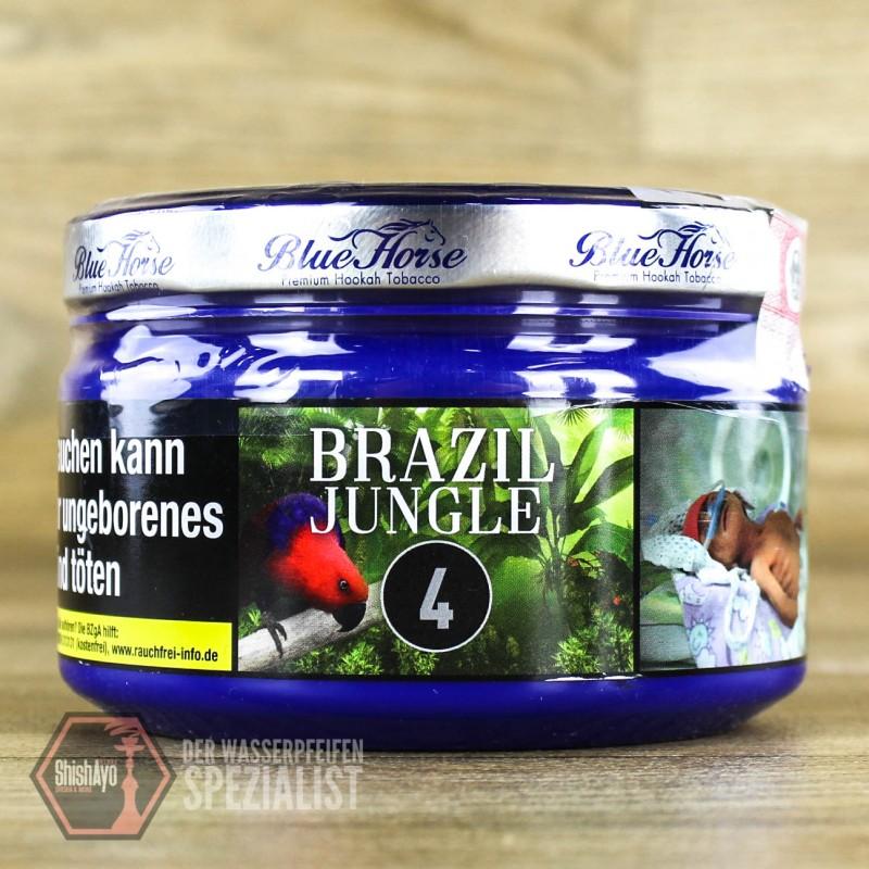 Blue Horse Tobacco - Blue Horse- Brazil Jungle 200gr.