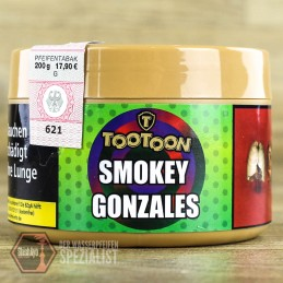 TooToon Tobacco - TooToon Tobacco- Smokey Gonzales 200gr.
