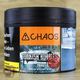 Chaos Tobacco • Turkish Bubbles Code Red 200 gr.