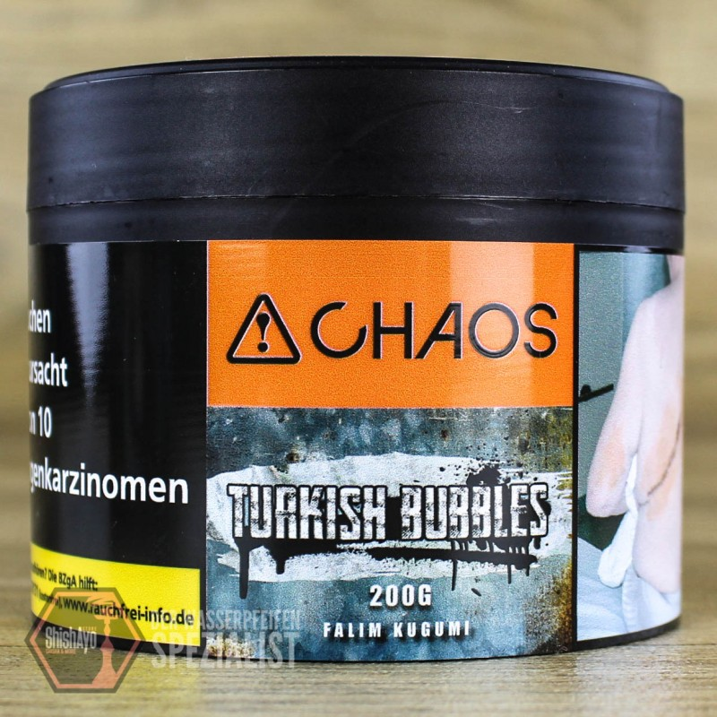 Chaos Tobacco • Turkish Bubbles 200 gr.