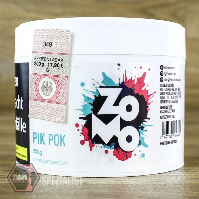Zomo Tobacco - Zomo- Pik Pok 200gr.