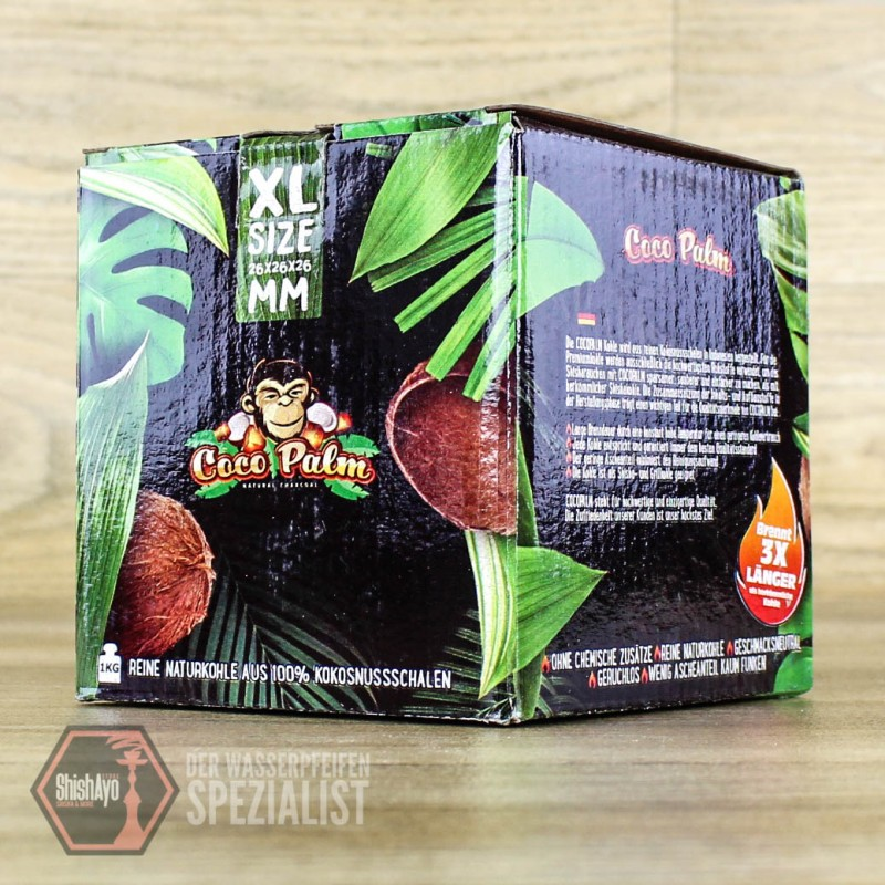 CocoPalm • 26mm Kohle