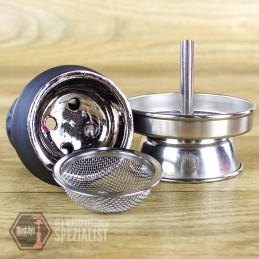 Nizo • Steinkopf Set Silber