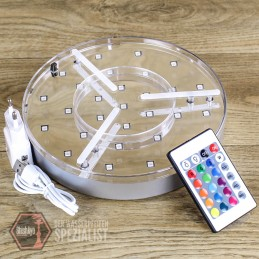 • LED Untersetzer 20cm