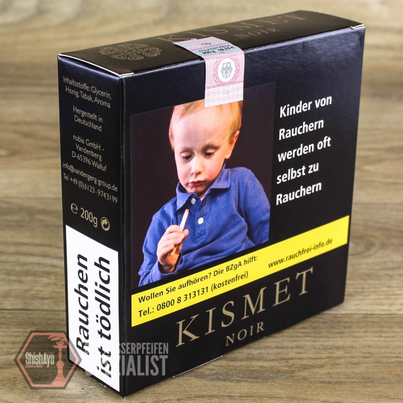 Kismet Noir • Honey Blend BLCK CSS