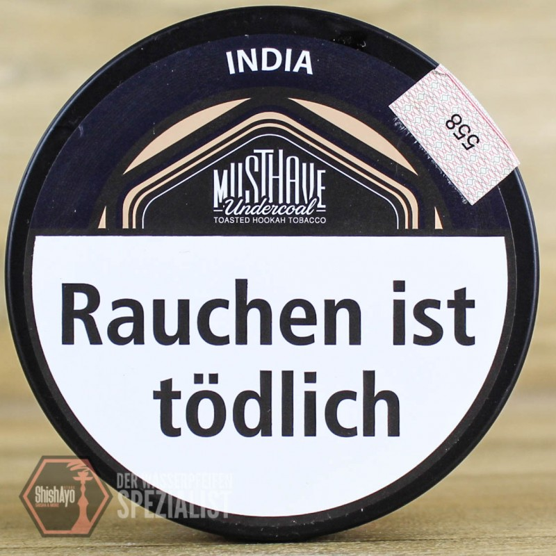 Musthave • India 200 gr.