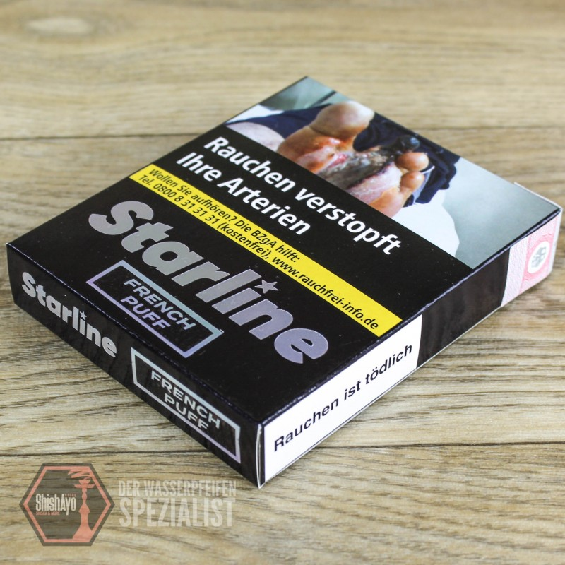 Darkside Tobacco • Starline French Puff 200 gr.