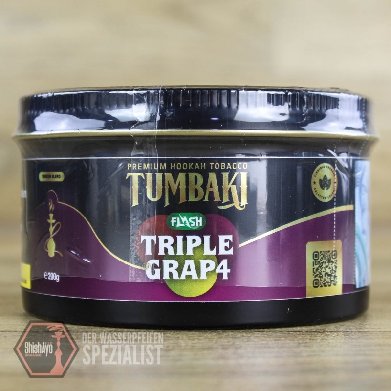 Tumbaki Tobacco • Triple Grap4 Flash 200gr.