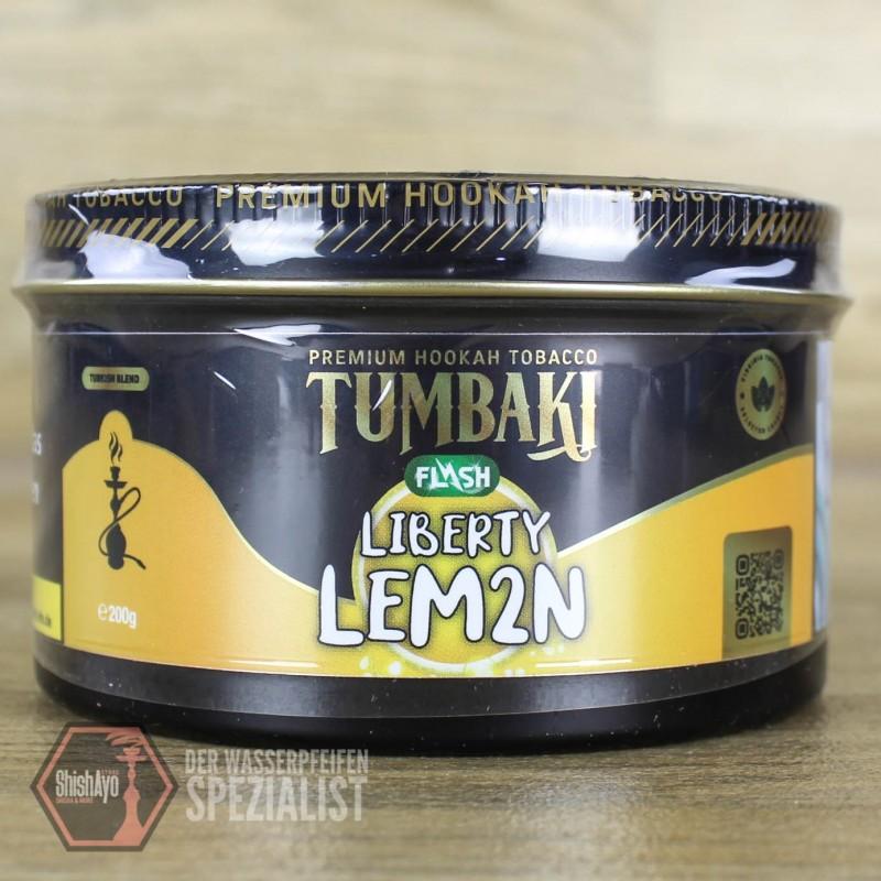 Tumbaki Tobacco • Liberty Lem2n Flash 200gr.