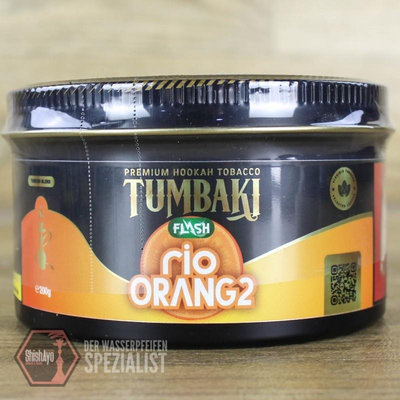 Tumbaki Tobacco • Rio Orang2 Flash 200gr.