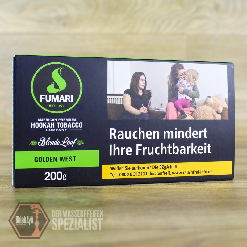Fumari • Golden West 200gr.