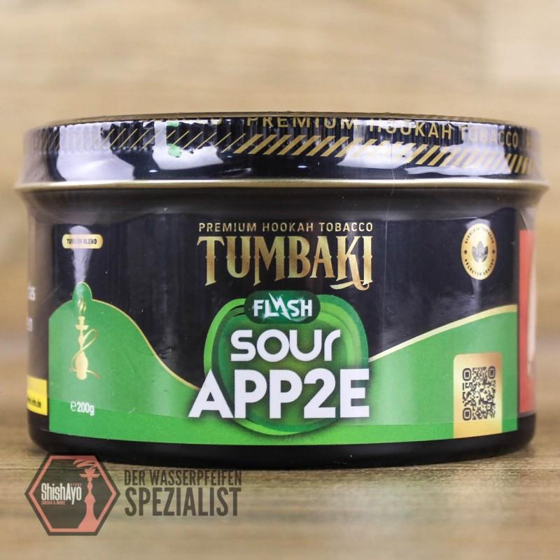 Tumbaki Tobacco • Sour App2e Flash 200gr.