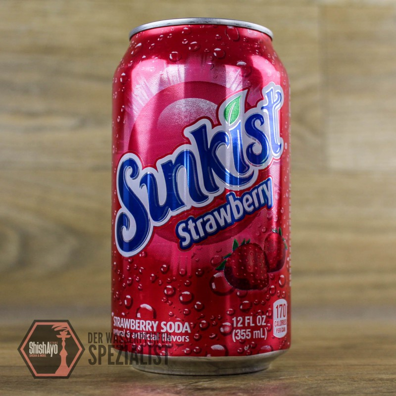 Sunkist • Strawberry Lemonade 355ml.