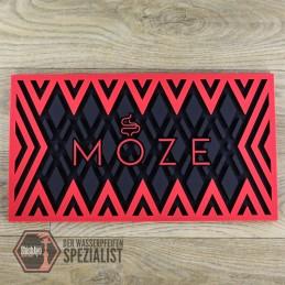 Moze Shisha  • Abtropfmatte - Red