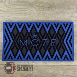 Moze Shisha  • Abtropfmatte - Blue