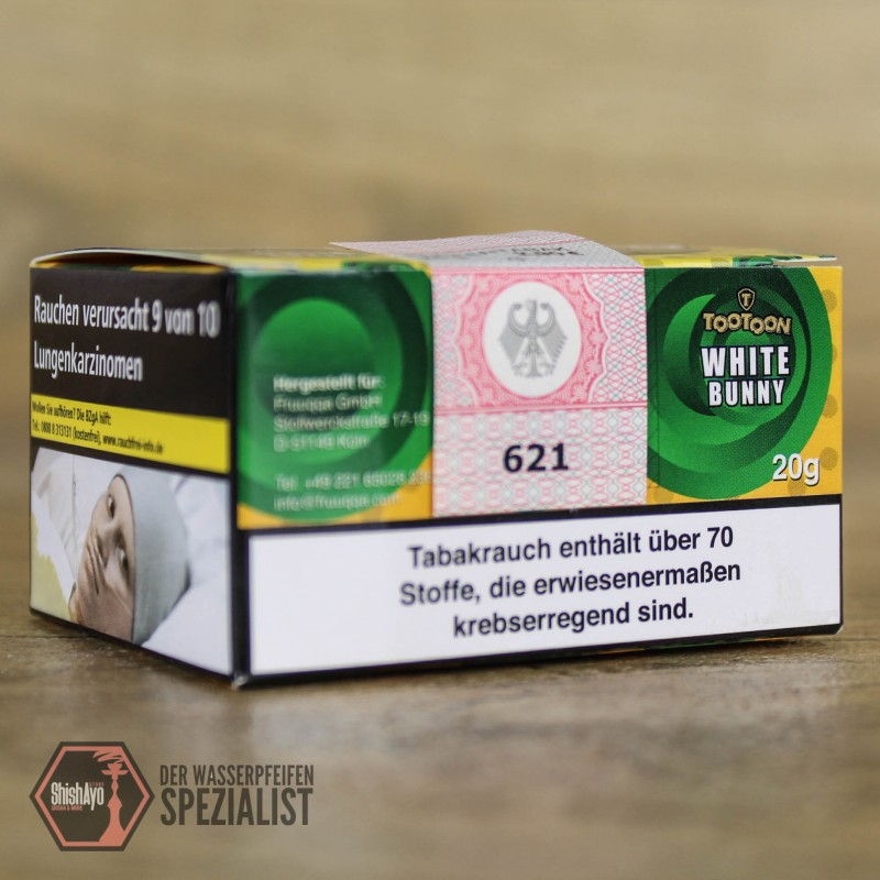 TooToon Tobacco • White Bunny 20gr.